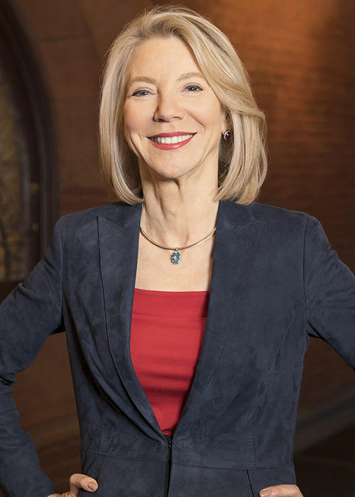 Amy Gutmann -  president of the University of Pennsylvania
