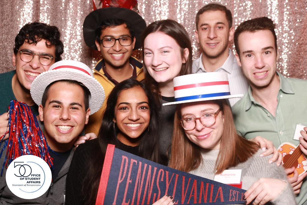 Penn Students at OSAs 50 Anniversary Party